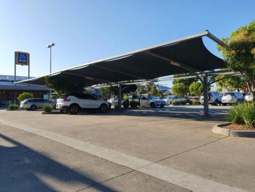 Car Park Shade Sails Melbourne