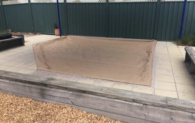 Sand Pit Cover 1